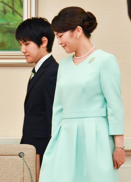 2017年9月の婚約内定会見(代表取材)JMPA