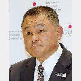 JOCの山下泰裕会長(C)日刊ゲンダイ