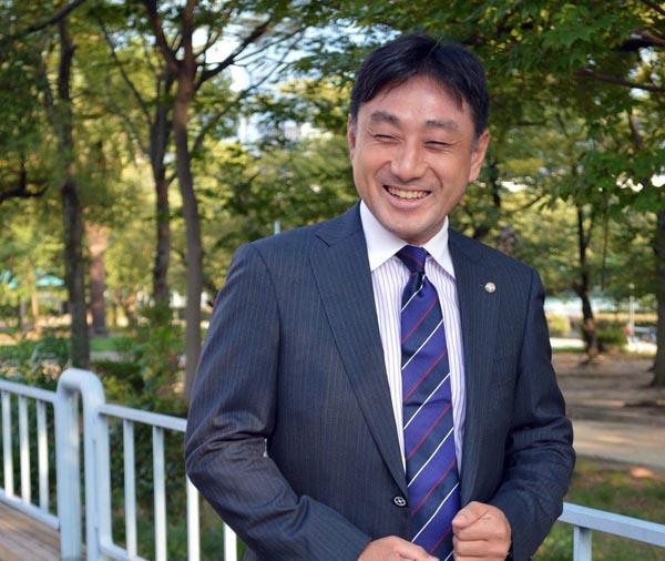 パーシヴァル(コンサルタント業)の川辺友之社長(提供写真)
