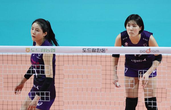騒然となっている韓国女子バレーボール界(C)Yonhap News Agency/共同通信イメージズ