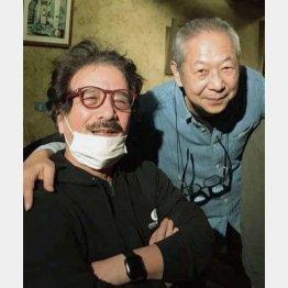 筆者(左)とのツーショット(提供写真)