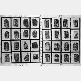 「ペッチャンコーラ」の写真を貼り込んだスケッチブック(1972~73年撮影)/(提供写真)