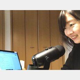 社員の結束を高めるラジオ(楓工務店提供)