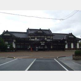 旧大社駅(C)日刊ゲンダイ