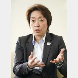 橋本聖子新会長の手腕は…(C)共同通信社