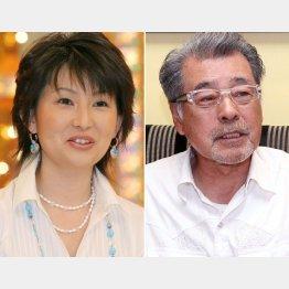 司会の森本毅郎(右)とアシスタントの小島奈津子(C)日刊ゲンダイ