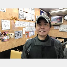 二代目の白石悟さん(提供)藤原亮司
