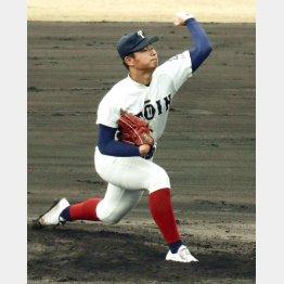 大阪桐蔭のエース松浦は北海道出身(C)共同通信社