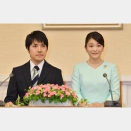 眞子さまと小室圭さん(代表撮影)JMPA