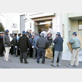 滋賀県警による関西生コンの捜査を指揮(C)共同通信社