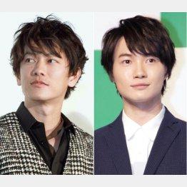 佐藤健(左)と神木隆之介(C)日刊ゲンダイ