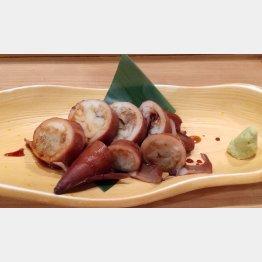 煮ヤリイカは甘すぎず、塩辛すぎず、いいあんばい(C)日刊ゲンダイ