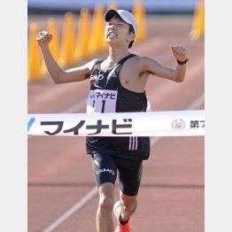昨2020年の大会は箱根駅伝を沸かせた青学OBの吉田祐也が優勝したが…(C)共同通信社