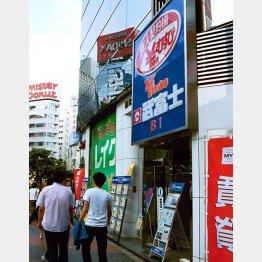 当時は街中にサラ金があふれていた(2001年)/(C)日刊ゲンダイ