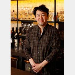 「Beer, etc.」の鵜飼昌彦さん(C)日刊ゲンダイ