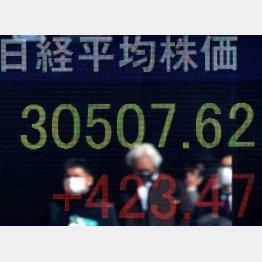 外国人投資家が3万円相場の主役を張っている(C)日刊ゲンダイ