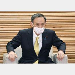 やってるフリ(菅首相)/(C)共同通信社