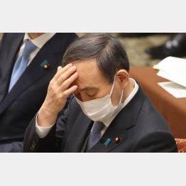 何とか東京五輪開催支持をとりつけたい菅首相だが…(C)日刊ゲンダイ