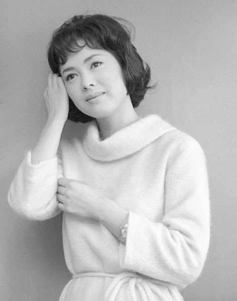 佐久間良子(1963年当時)/(C)共同通信社
