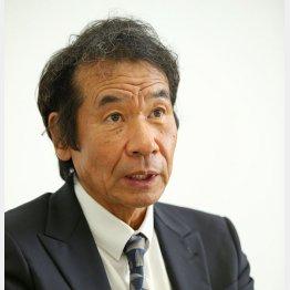 辞任した水野泰三氏(C)日刊ゲンダイ