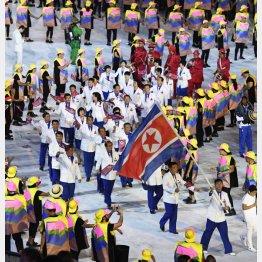 2016年リオ五輪の北朝鮮は金2個を含む7個のメダルを獲得したが(C)共同通信社