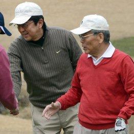 フジのドンが日参 認識直前に安倍前首相との蜜月ゴルフ