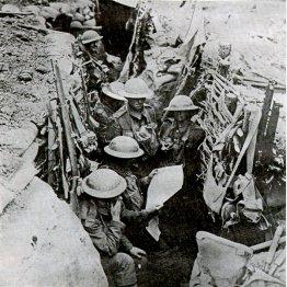 西部戦線での英軍の部隊(C)World History Archive/ニューズコム/共同通信イメージズ