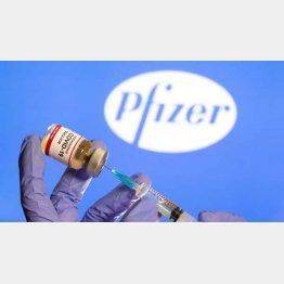 ファイザーの新型コロナワクチン売上高は約150億ドル(C)ロイター