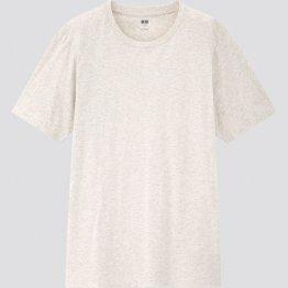 ユニクロのスーピマコットンTシャツ(提供写真)