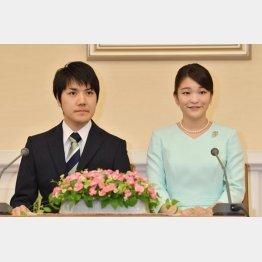 小室圭さんと眞子さま(代表撮影・JMPA)