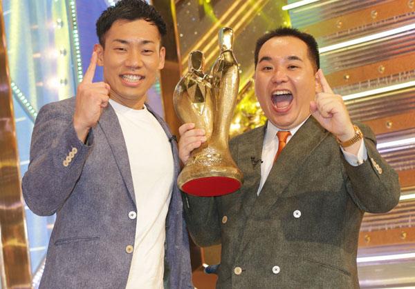 ミルクボーイの駒場孝(左)と内海崇(C)日刊ゲンダイ