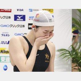 競泳の池江璃花子が最終ランナーを務めれば注目度は抜群(C)共同通信社