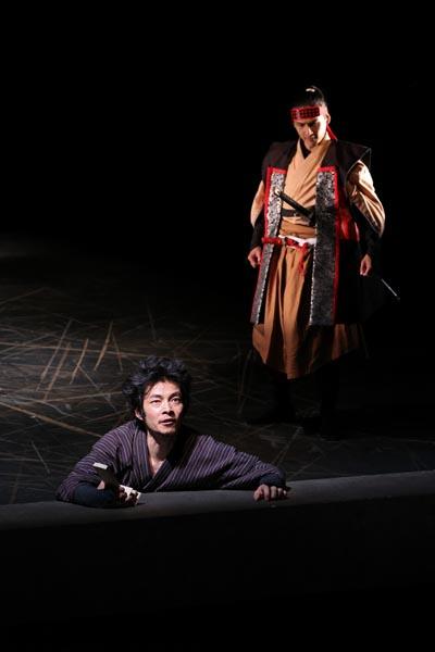 伊達暁(左)と小泉将臣(撮影=宮川舞子)