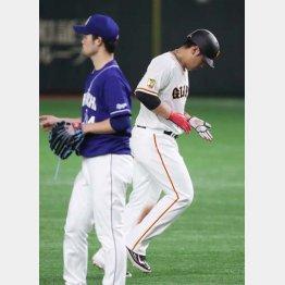 岡本は元気なし(C)日刊ゲンダイ