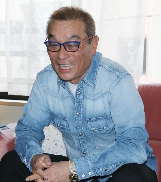 中野浩一さん(写真提供・清流舎)