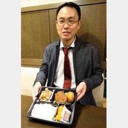 老舗洋食「キッチンジロー」の山村進社長(C)日刊ゲンダイ