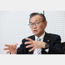 ホスピタリティ&グローイング・ジャパン代表取締役社長の有本均さん(C)日刊ゲンダイ