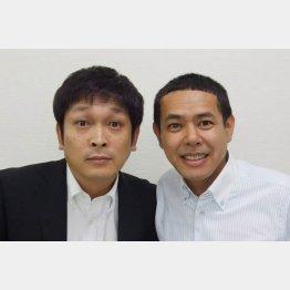 デンジャラスの安田和博さん(左)とノッチさん(C)太田プロ