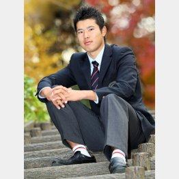2011年、渡米前に日刊ゲンダイに決意を語った松山(C)日刊ゲンダイ