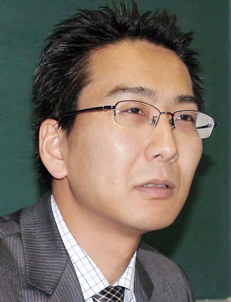 ジャーナリストの北角裕樹さん(C)共同通信社