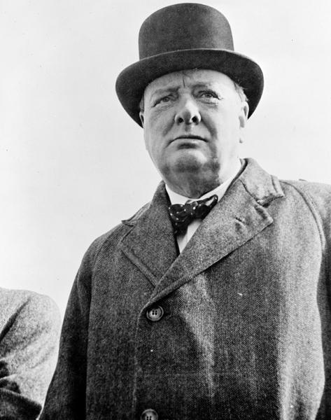 チャーチルは「やむを得ずこの戦争を始めた」と演説した(C)World History Archive/ニューズコム/共同通信イメージズ