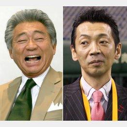 みのもんた(左)と宮根誠司(C)日刊ゲンダイ