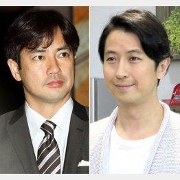 羽鳥慎一(左)と谷原章介(C)日刊ゲンダイ