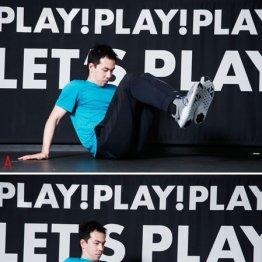 ニートゥーチェストは足の曲げ伸ばしではなく股関節に集中