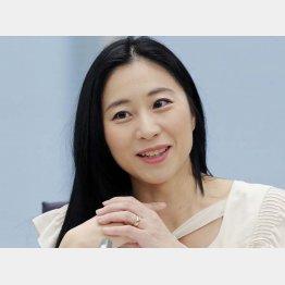 国際政治学者の三浦瑠麗氏(C)共同通信社