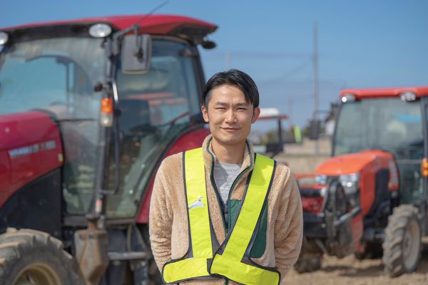 中森農産の中森剛志社長(提供写真)