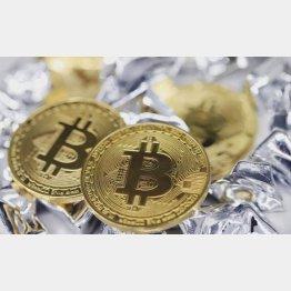 ビットコイン3割安、値動きは激しい(C)日刊ゲンダイ