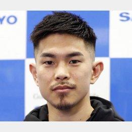 「お騒がせボクサー」、WBO世界スーパーフライ級王者の井岡一翔(C)共同通信社