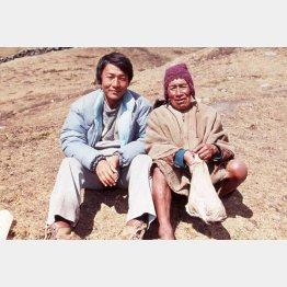 ペルー・アンデスのロケ村にて(提供写真)