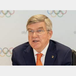 凄まじい嫌われっぷり(IOC提供・共同)